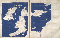 Ptolemaic Map Of The British Isles, Ca. 1480 ff.. 60v-61